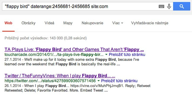 Flappy Bird Google