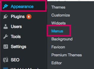 Go to Appearance - Add to Menu