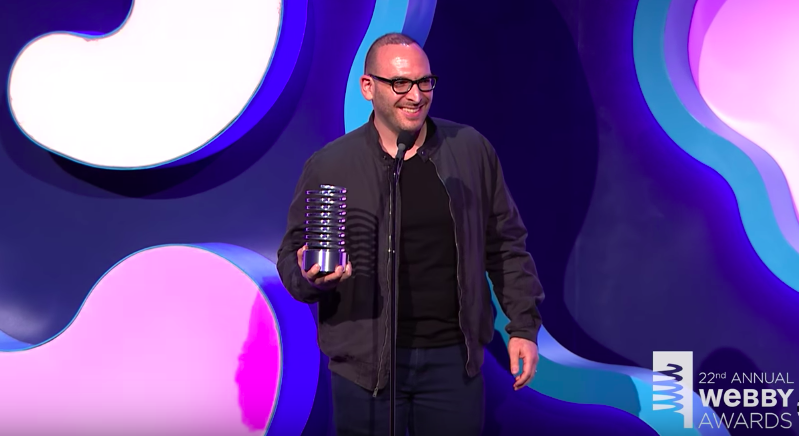 R/GA's 5-Word Speech at the 22nd Annual Webby Awards