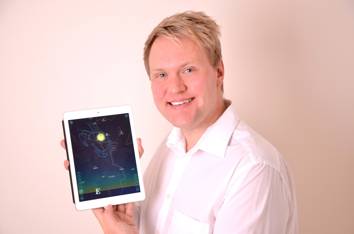 Andy Weekes is the Company Director of iCandi Apps Ltd and the mind behind Night Sky.