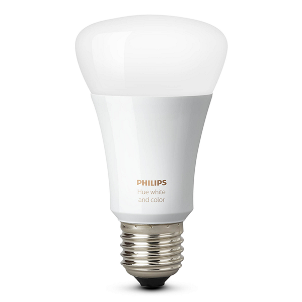 Philips 464487 Hue White and Color Ambiance A19 60W
