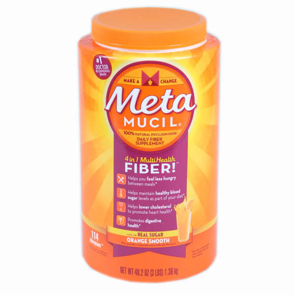 Metamucil MultiHealth Fiber Powder