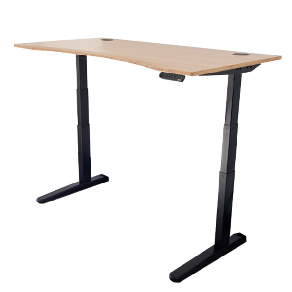 Fully Jarvis Bamboo Adjustable Height Desk