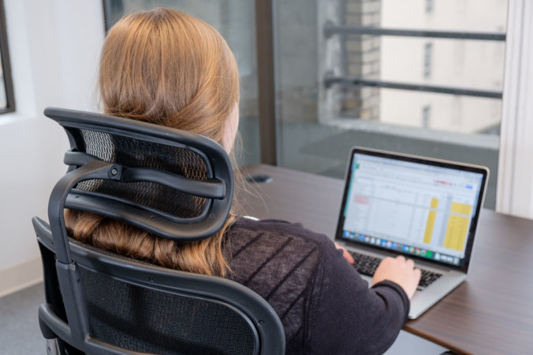 Ergohuman headrest for Office Chair
