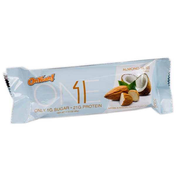 OhYeah! Nutrition ONE Bars (Almond Bliss)
