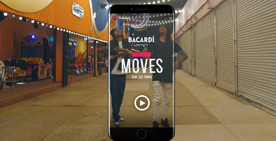 Bacardi - Live Moves by BBDO New York
