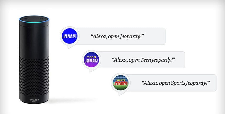 Jeopardy! Alexa Skill by Sony Pictures