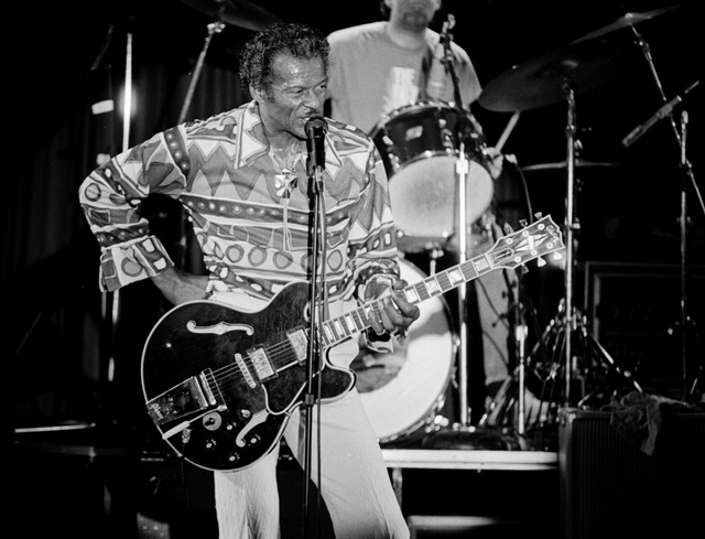 Chuck Berry Onstage