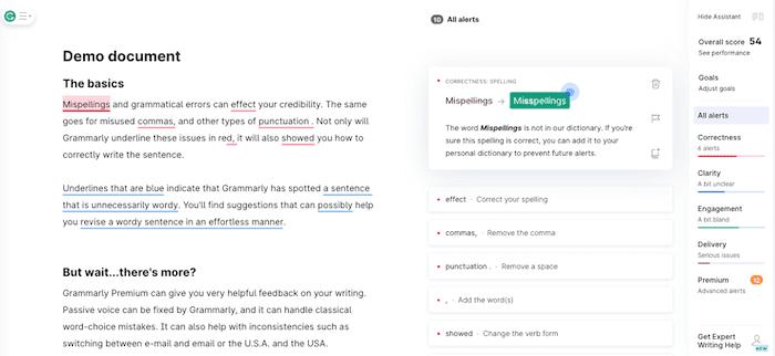 content marketing tools grammarly